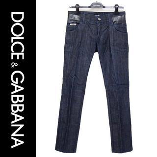 ドルチェアンドガッバーナ(DOLCE&GABBANA)のDOLCE&GABBANA 14GOLD テープコーティング デニム 44(デニム/ジーンズ)