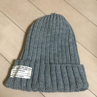 ジーユー(GU)のニット帽 ニットキャップ ジーユー GU(ニット帽/ビーニー)