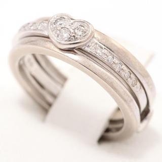 スタージュエリー(STAR JEWELRY)の☆スタージュエリー  リング ☆ 指輪 k18 wg ダイヤリング 2way (リング(指輪))