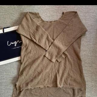 アングリッド(Ungrid)のほぼ未使用  アングリッド  サーマルニット(Tシャツ/カットソー(七分/長袖))