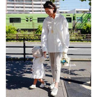 ドゥロワー(Drawer)のBand collar Blouse White gypsohila (シャツ/ブラウス(長袖/七分))