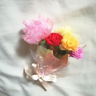リボンフラワーの花束[mini]母の日トルコキキョウmix 母の日ギフトおすすめ(その他)