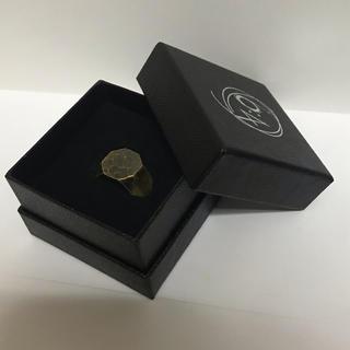マルタンマルジェラ(Maison Martin Margiela)の6:4 brass 真鍮リング Lieu(リング(指輪))