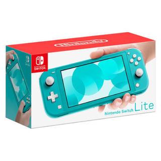 ニンテンドウ(任天堂)の新品 Nintendo Switch Lite ターコイズ Light スイッチ(携帯用ゲーム機本体)