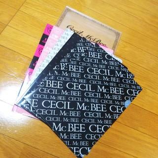 セシルマクビー(CECIL McBEE)のセシル ファイル&ノート・メモセット(ノート/メモ帳/ふせん)