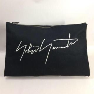ヨウジヤマモト(Yohji Yamamoto)のヨウジヤマモト クラッチバッグ(セカンドバッグ/クラッチバッグ)