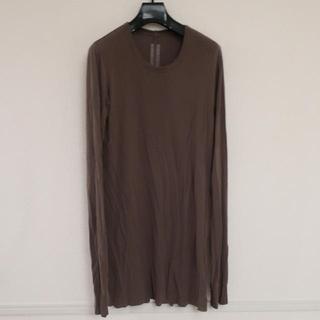 リックオウエンス(Rick Owens)のrick owens basic tee(Tシャツ/カットソー(七分/長袖))