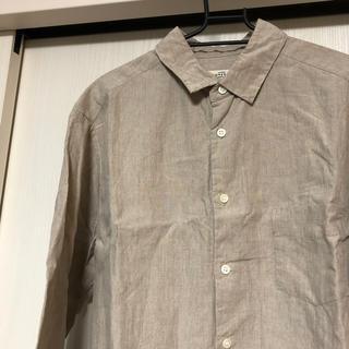 ネストローブ(nest Robe)の定番! 80ハイカウントリネンシャツ confect(シャツ)