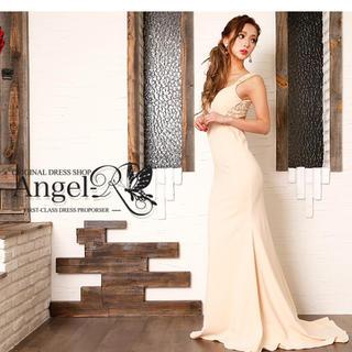 エンジェルアール(AngelR)の新品 エンジェルアール ドレス キャバドレス キャバ嬢 ベージュ(ナイトドレス)