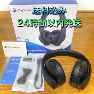 プレイステーション(PlayStation)の【美品✨】ワイヤレスサラウンドヘッドセットSONYCUHJ-15007(ヘッドフォン/イヤフォン)