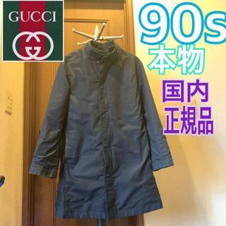 グッチ(Gucci)のgucci 90s ステンカラーコート グッチ M-L相当 GUCCI コート(ステンカラーコート)