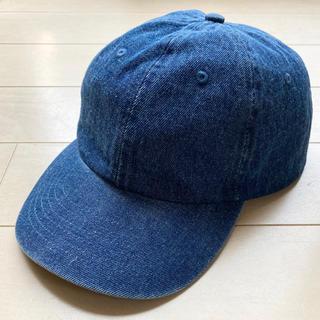 キャップ 帽子 デニム ニューハッタン レディース メンズ(キャップ)