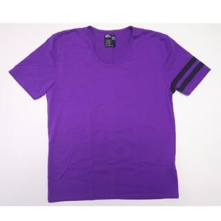 ピーピーエフエム(PPFM)のPPFM 半袖Tシャツ サイズ2 紫 パープル(Tシャツ/カットソー(半袖/袖なし))