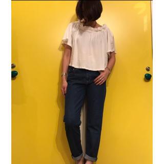 シェル(Cher)の【Cher】スモックTシャツ(ホワイト)(Tシャツ(半袖/袖なし))