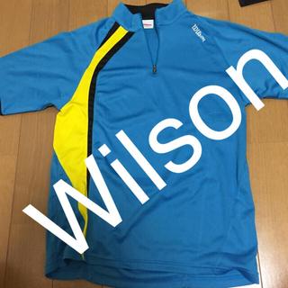 ウィルソン(wilson)のWilson ウィルソン ゲームシャツ テニス バドミントン ウェア(ウェア)