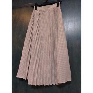 ジーユー(GU)のGU  ギンガムチェックロングスカート(ロングスカート)