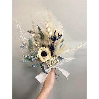 記念日を彩るドライフラワーのブーケ  母の日 2020 white ver.(ブーケ)