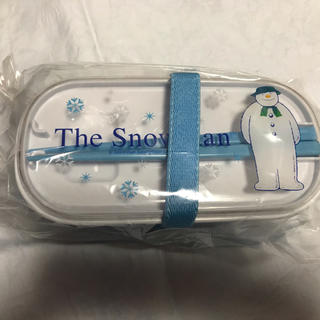 Snowmanお弁当箱と保冷バック(弁当用品)