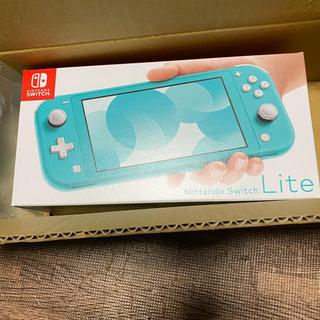 ニンテンドースイッチ(Nintendo Switch)のNINTEDO switch lite ターコイズ スイッチ ライト(携帯用ゲーム機本体)