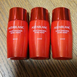 アスタブラン(ASTABLANC)の新品 アスタブラン Wリフト エマルジョン 乳液 とてもしっとり(乳液/ミルク)