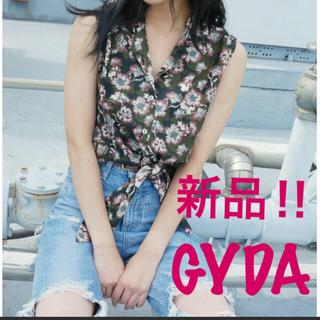 ジェイダ(GYDA)の【新品‼︎】GYDA フラワータンクシャツ(シャツ/ブラウス(半袖/袖なし))