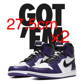 ナイキ(NIKE)のNike AIR JORDAN 1 OG High court purple (スニーカー)