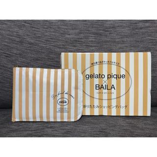 ジェラートピケ(gelato pique)のジェラートピケ ショッピング バッグ(エコバッグ)
