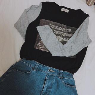 ダブルネーム(DOUBLE NAME)のラグランTシャツ(長袖)(Tシャツ(長袖/七分))