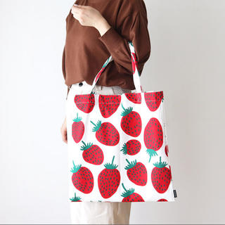 マリメッコ(marimekko)の新品 マリメッコ マンシッカ ファブリックバッグ(トートバッグ)