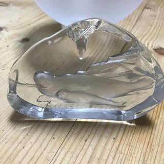 イッタラ(iittala)のnybroニーブロスェーデン クリスタルガラスアザラシ(食器)