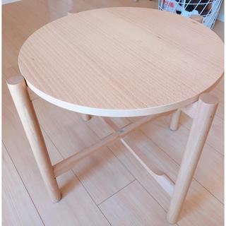 ムジルシリョウヒン(MUJI (無印良品))の♡MUJI無印良品サイドテーブル♡(コーヒーテーブル/サイドテーブル)