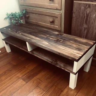 シンプル アンティークテーブル お洒落家具(ローテーブル)