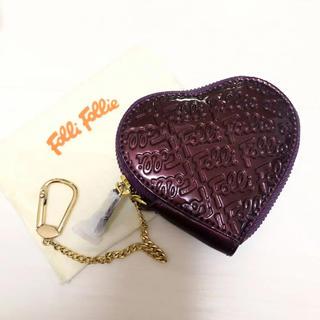 フォリフォリ(Folli Follie)の新品 財布 Folli Follie ハートコインケース 小銭入れ(コインケース)