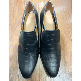 シマムラ(しまむら)のクロコ柄ローファー(ローファー/革靴)
