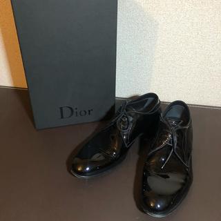 ディオールオム(DIOR HOMME)のディオールオム Dior HOMME ダービー シューズ エナメル 革靴 40(ドレス/ビジネス)