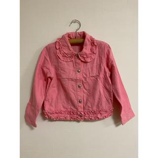 シャーリーテンプル(Shirley Temple)のシャーリーテンプル ジャケット ピンク系120(ジャケット/上着)
