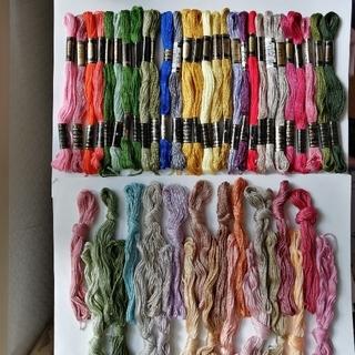 オリンパス(OLYMPUS)の刺繍糸 OLYMPUS オリンパス 25番 50本50色セット(生地/糸)