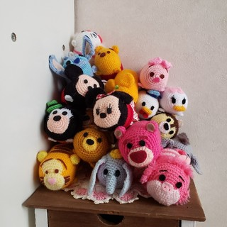 ディズニー(Disney)のディズニー ツムツム 編みぐるみ セット(あみぐるみ)