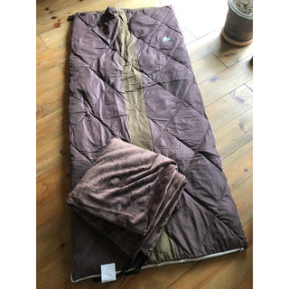 ロゴス(LOGOS)のnikepomme様 ロゴス プレミアムダウンコンフォート 2セット(寝袋/寝具)