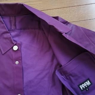 ピーピーエフエム(PPFM)のPPFM ピーピーエフエム メンズ ジャケット 半袖 紫色 Fサイズ(その他)