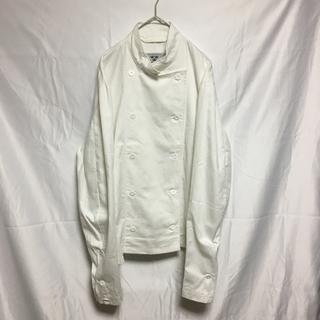 マルタンマルジェラ(Maison Martin Margiela)の【希少】スウェーデン軍 コックジャケット シャツ ホワイト(その他)