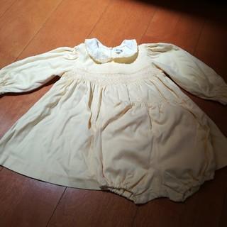 イヴサンローランボーテ(Yves Saint Laurent Beaute)のイヴサンローラン ワンピース 長袖 90(ワンピース)