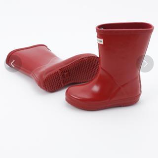 ハンター(HUNTER)の専用!HUNTER キッズレインブーツ サイズ9 15cm(長靴/レインシューズ)