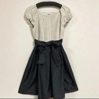 クチュールブローチ(Couture Brooch)のクチュールブローチ 切り替えパーティードレス(ミディアムドレス)