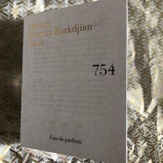 メゾンフランシスクルジャン(Maison Francis Kurkdjian)のクルジャン 754 パルファム(ユニセックス)