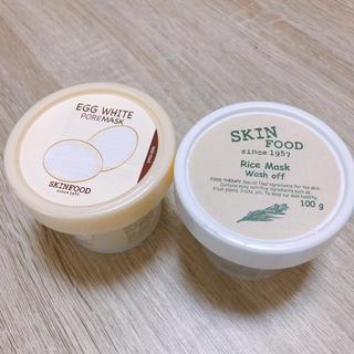 スキンフード(SKIN FOOD)のSKINFOOD♡エッグホワイト&ライスブライトニング(パック/フェイスマスク)