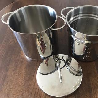 ヴェーエムエフ(WMF)のWMFステンレス パスタ鍋(調理道具/製菓道具)