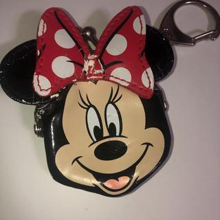 ディズニー(Disney)のミニー 小銭入れ コイン入れ がま口(財布)