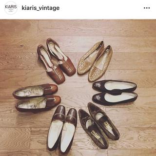 エディットフォールル(EDIT.FOR LULU)のKIARIS vintage パンプス美品(ハイヒール/パンプス)