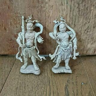 エポック(EPOCH)の仏像コレクション*金剛力士像 阿形 吽形  (その他)